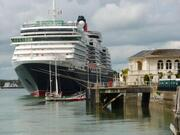 Cunard's Queen Victoria in Cobh, Ireland