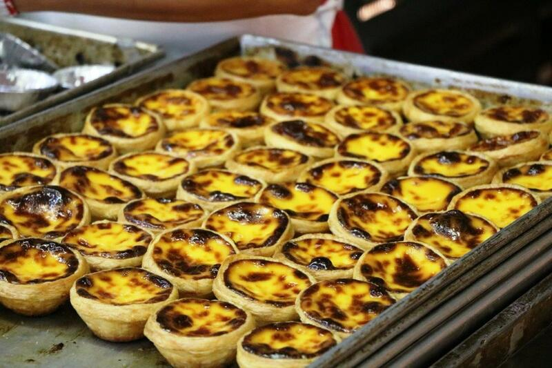 pastel de nata, Lord Stow's Bakery, Macao